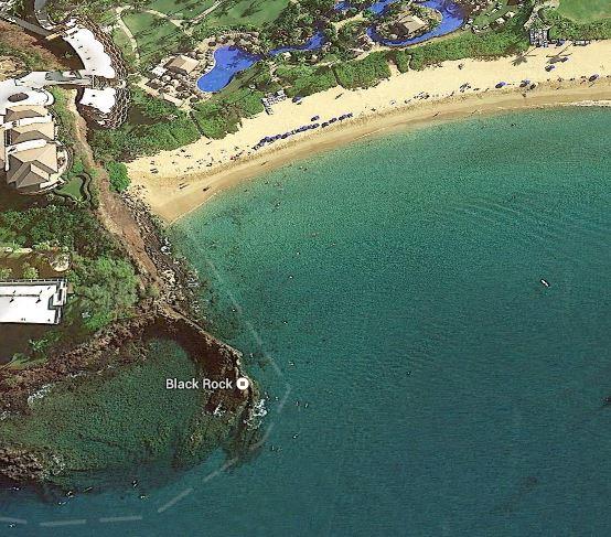 Black Rock At Kaanapali Beach Maui Snorkel Gear And Beach Equipment Rentals