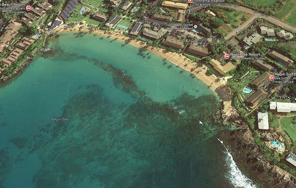 Napili Bay Maui Snorkel Gear And Beach Equipment Rentals