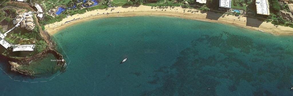 Black Rock and Kaanapali Beach